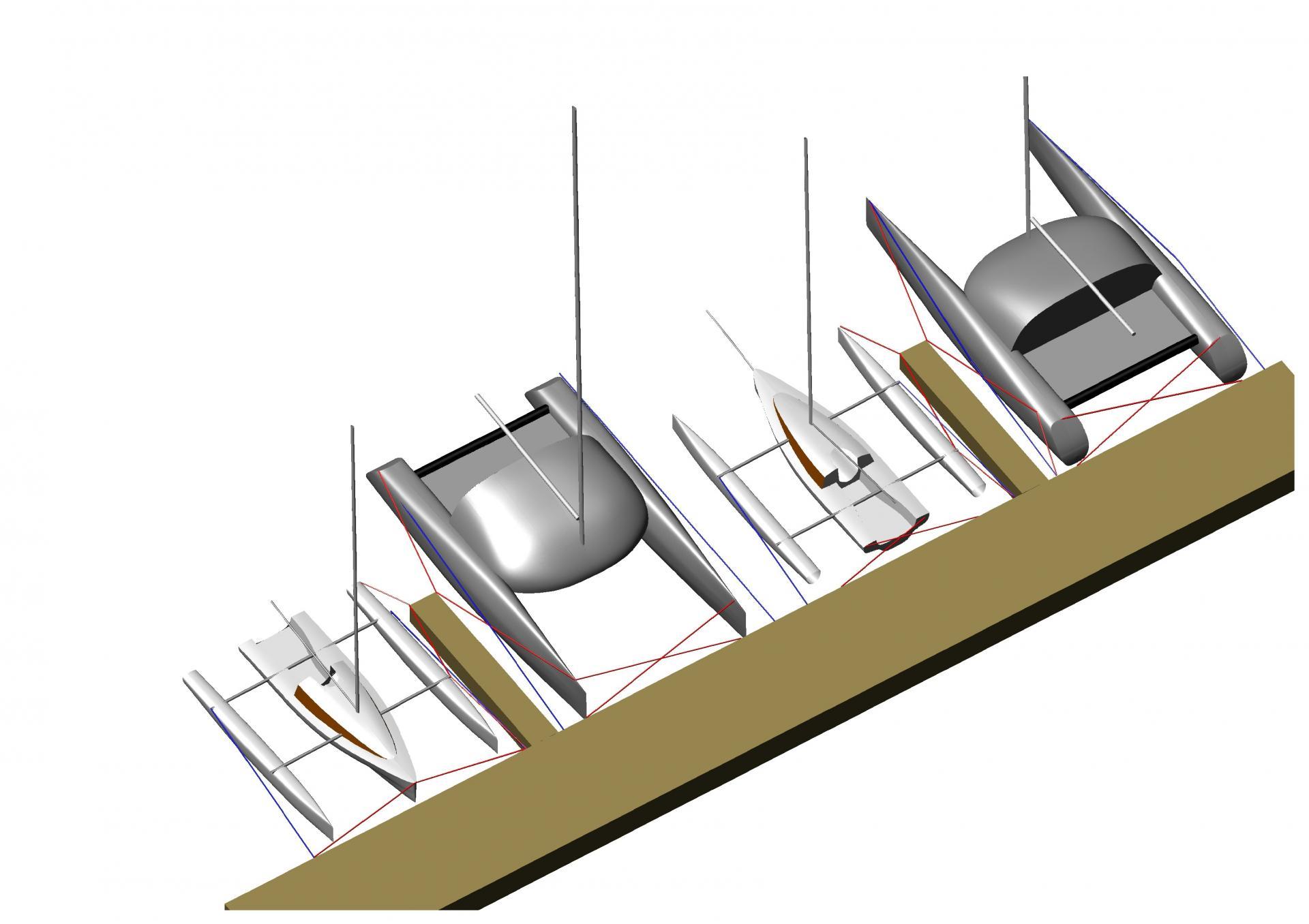 les techniques d 39 amarrage en multicoque. Black Bedroom Furniture Sets. Home Design Ideas