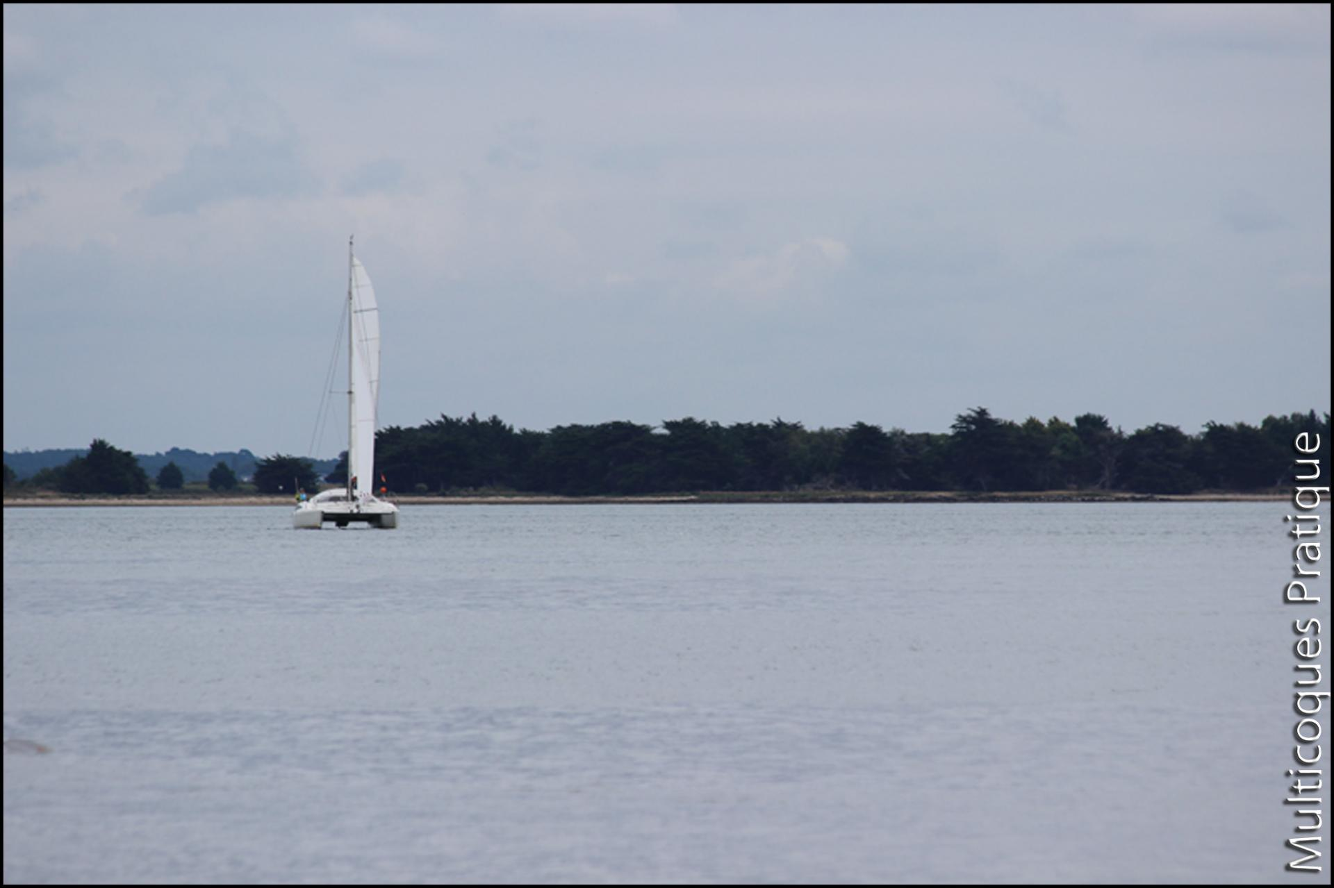 Maldives 32 : catamaran de largeur classique