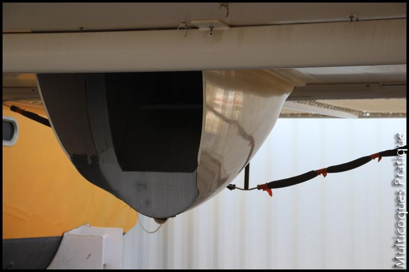 Carénage moteur sous nacelle d'un BMS33
