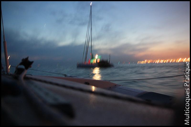 Début de navigation de nuit